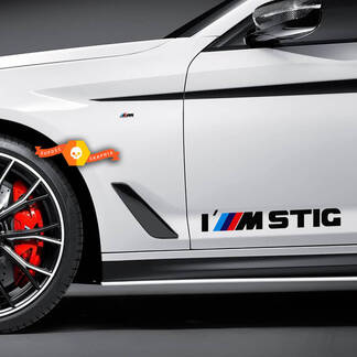 BMW I M STIG M Power Performance Decal Sticker Graphics
