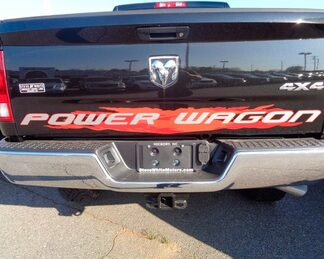14-16 Dodge Ram 2500 New Red Power Wagon Tailgate Decal Mopar