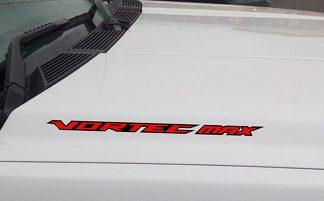 VORTEC MAX Hood Vinyl Aufkleber Aufkleber Passend für: Chevrolet Silverado GMC (umrissen)