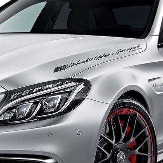 LETTERING DECAL STICKER EMBLEM LOGO VINYL AMG FOR MERCEDES-BENZ