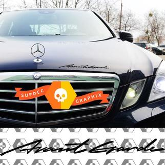 LETTERING DECAL STICKER EMBLEM LOGO VINYL FOR MERCEDES-BENZ Avantgarde