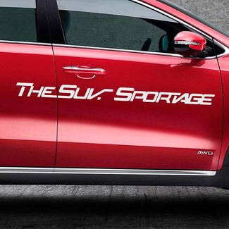 LETTERING DECAL STICKER EMBLEM LOGO VINYL SPORTAGE FOR KIA
