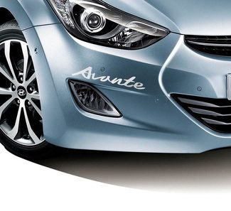 LETTERING DECAL STICKER EMBLEM LOGO VINYL AVANTE ELANTRA FOR HYUNDAI