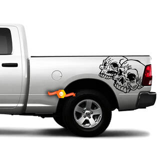Truck Bed Stripes Vinyl Graphic Decals - Fits Toyota Tacoma Chevy Dodge