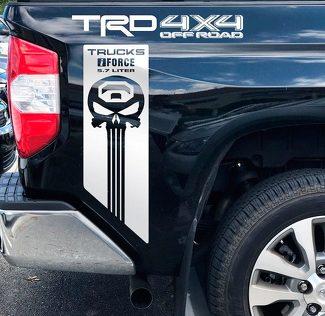 Toyota TRD Offroad iForce 5,7 Liter Tundra Truck Offroad Aufkleber Aufkleber Vinyl