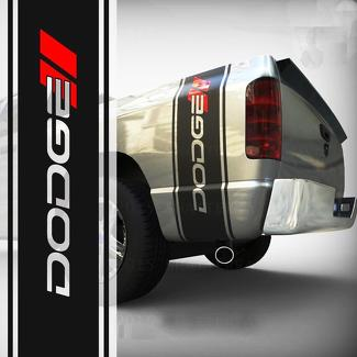 Dodge Ram 1500 2500 3500 TRUCK bed box stripe decal vinyl Sticker Graphic 042
