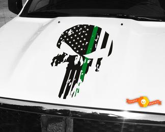Jeep Renegade Black Ops Edition >> Product: Jeep Wrangler Blackout BLACK BEAR edition PASS map adventure trip Vinyl Hood Decal TJ ...