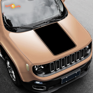 2015-2018 Jeep Renegade Vinyl Hood Decal Sticker Graphic