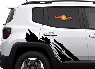Jeep Renegade Graphics  Decals 2015 2016 2017 2018
