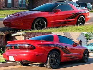 30th Anniversary Body Stripes decals fit Firebird or Trans Am