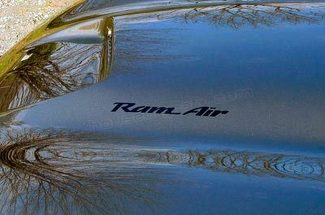 Firebird style RAM AIR decals for your Pontiac Grand Prix