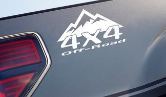 4x4 OFF ROAD Mountain Decal Sticker Emblem Racing Truck Logo Fits: Dodge