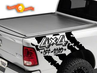 4X4 Off Road Wrap Kit for Dodge Ram 2009 - 2020 1500/2500/3500 Vinyl Decal Sticker