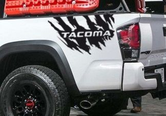 Decal Sticker Side tailgate kit for TOYOTA TACOMA 2004-2018 offroad custom