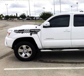 Decal Sticker Side front fender kit for TOYOTA TACOMA 2004-2018 offroad custom