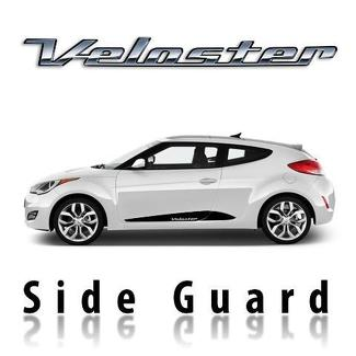 Seitenschutzaufkleber für Hyundai Veloster 2011 & Up vorgeschnitten