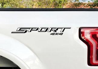 Ford F150 Sport 4X4 Aufkleber Bedside Decal 2015 2016 2 Aufkleber Vinyl Cut Aufkleber
