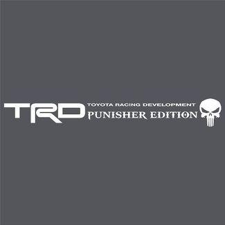 Toyota Tundra TRD Racing Punisher WINDSCHUTZSCHEIBE Vinyl Aufkleber Aufkleber LKW