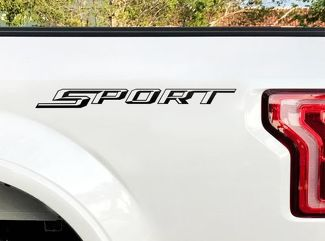 Ford F150 Sport Stickers Bedside Decal 2015 2016 Decals Vinyl Cut Pair Sticker L