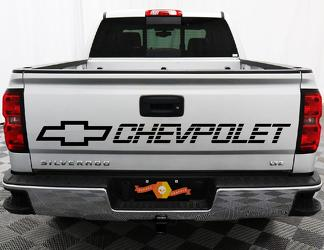 Chevrolet tailgate decal sticker silverado z71 lt ls 1500 2500 chevy
