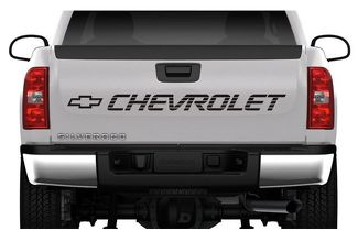 CHEVROLET TAILGATE VINYL DECAL STICKER