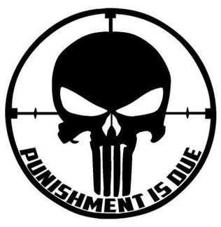 Punisher Skull Window Decal Vinyl Graphic 15