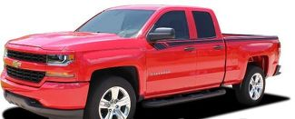 2014-2018 Chevy Silverado Upper Side Door BREAKER Accent Any Colour Stripe Vinyl Graphic