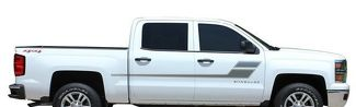 2013-2017 Chevy Silverado Stripe Door SPEED XL Decal Vinyl Graphics Any Colour Pro Kit