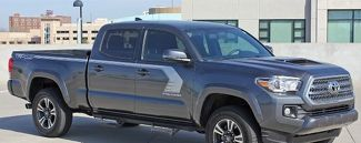 2015-2018 STORM Toyota Tacoma Upper Door Panel Decal Any Colour Vinyl Graphic Stripe Kit