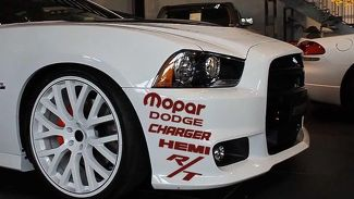 2x custom dodge charger hemi mopar rt decal sticker kit decal sticker graphic