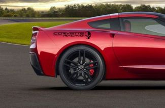 2 Chevy Corvette Racing Schädel Jake Decals z06 Stachelrochen c6 c7 Set