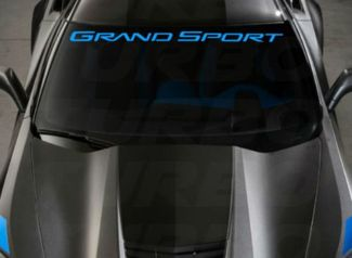 Chevy Corvette Grand Sport c7 Windshield Decal c5 c6 c7