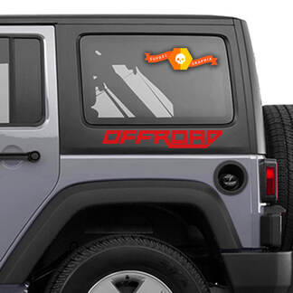 LETTERING DECAL STICKER EMBLEM LOGO VINYL OFF ROAD F TYPE FOR TOYOTA Jeep Wrangler