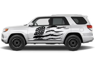 TOYOTA 4RUNNER (2010-2017) CUSTOM VINYL DECAL WRAP KIT - PATRIOT