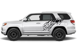 TOYOTA 4RUNNER (2010-2017) CUSTOM VINYL DECAL WRAP KIT - SPLASH