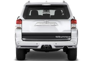 TOYOTA 4RUNNER (2010-2017) CUSTOM VINYL DECAL KIT - 4RUNNER TAILGATE
