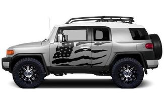 TOYOTA FJ CRUISER (2007-2014) CUSTOM VINYL DECAL WRAP KIT - PATRIOT