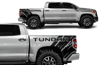 TOYOTA TUNDRA (2014-2017) CUSTOM VINYL DECAL KIT - TUNDRA QUARTER