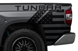 TOYOTA TUNDRA (2014-2017) CUSTOM VINYL DECAL KIT - TUNDRA USA
