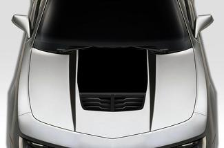 CHEVROLET CAMARO (2010-2015) CUSTOM VINYL DECAL WRAP KIT - HOOD SPEARS