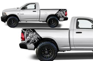 DODGE RAM 1500/2500 (2009-2018) CUSTOM VINYL DECAL KIT - REAPER
