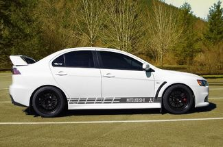 Multiple Color Graphic Lancer / Lancer Evolution Car Racing Decal Sticker