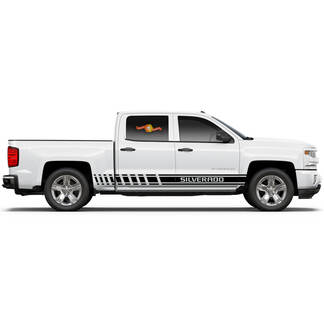 Product 2x Multiple Color Graphics Chevrolet Tahoe Symbol