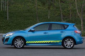 Skyactiv Car Vinyl Racing Grafikstreifen Aufkleber Aufkleber für Mazda Car Body Side