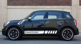 2X Multiple Color Graphics Countryman Symbol Car Racing Vinyl Decal Sticker