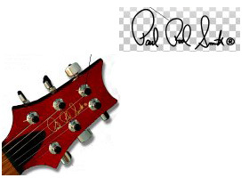 Paul Reed Smith Headstock Decal Sticker