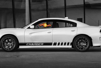 Streifen Grafiken Dodge Charger Symbol Autorennen Vinyl Aufkleber Aufkleber