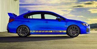 Mehrfarbige Grafik BRZ / WRX / Outback Car Racing Art Aufkleber Aufkleber