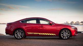 Zoom-Zoom Auto Vinyl Racing Grafikstreifen Aufkleber Aufkleber für Mazda Karosserieseite