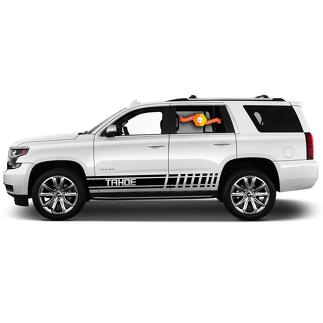 2X Multiple Color Graphics Chevrolet Tahoe Symbol Car Racing Vinyl Decal Sticker